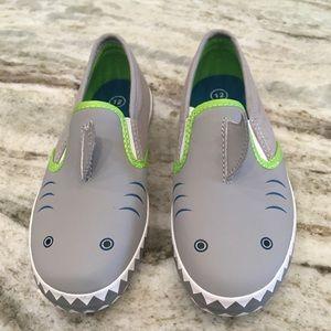 Cat & Jack Baby Shark Shoes NWOT